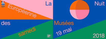 Affiche de la Nuit des Musées 2018