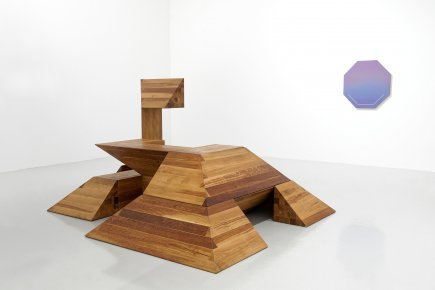 Paving space, œuvre de Raphaël Zarka