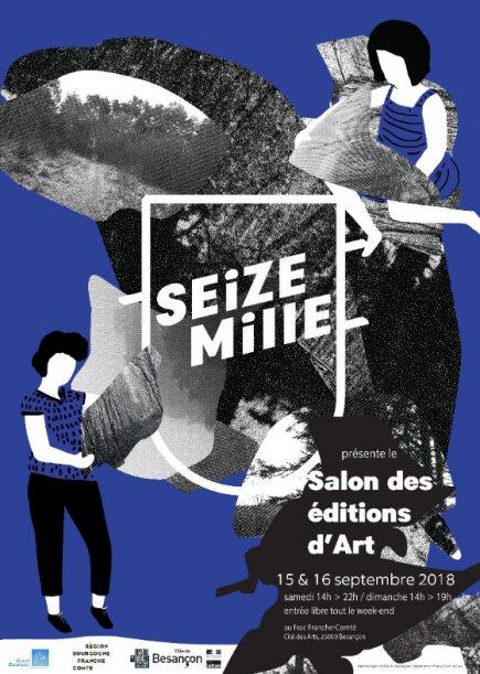 Affiche du salon des éditions d'art 2018